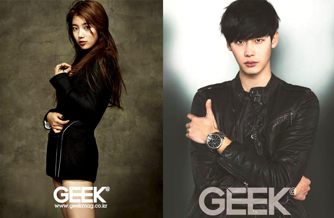 suzy bae lee jong suk for geek magazine