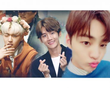 5 korean male celebrities cute gestures