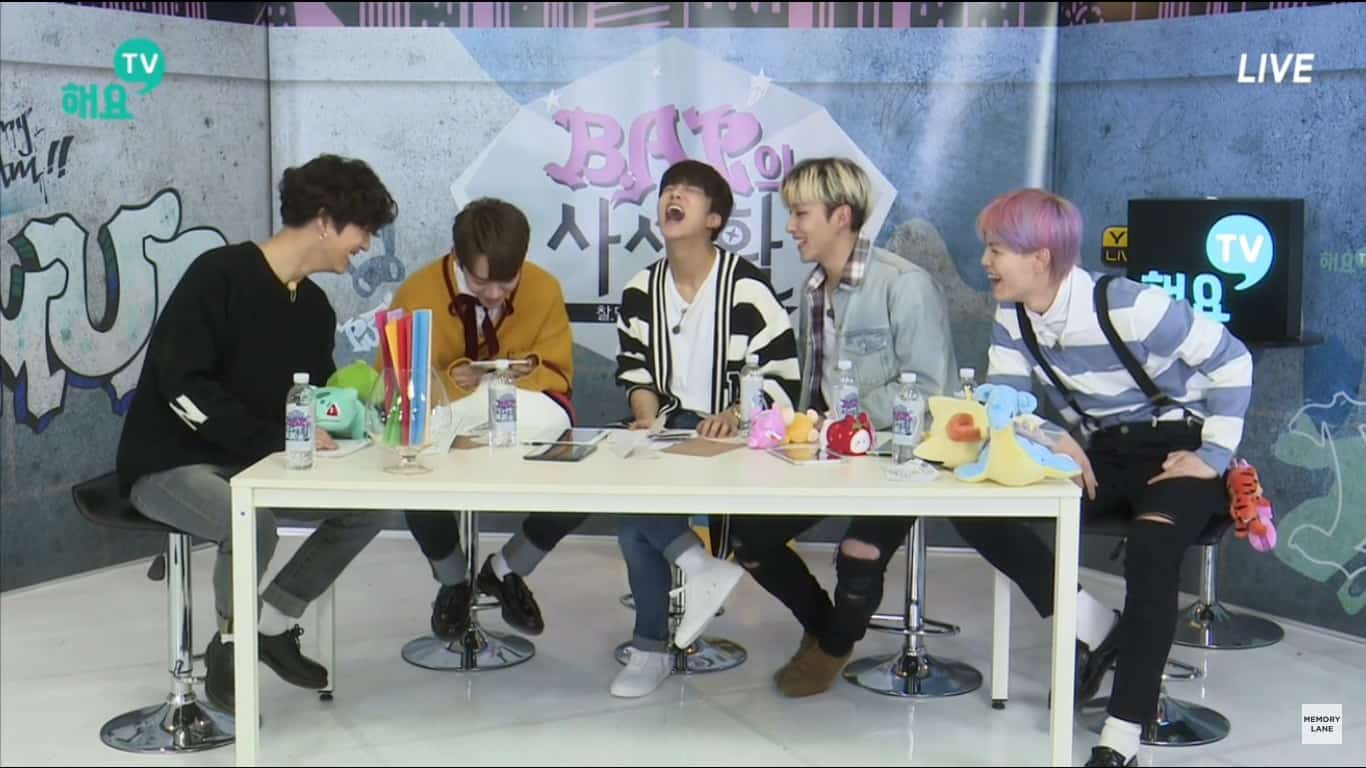 B.A.P Playing Scream Go