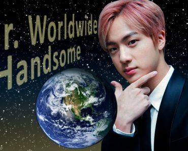 BTS Jin Is Worldwide Handsome