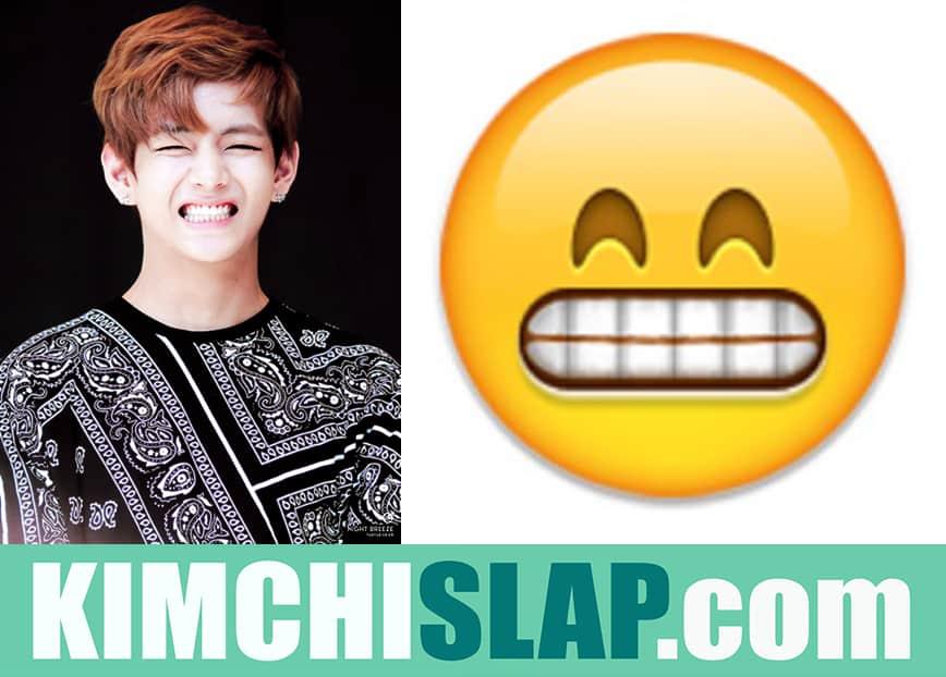 K-Pop Idols As Emoji In Real Life