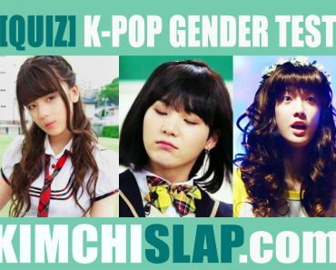 [QUIZ] K-POP Gender Test