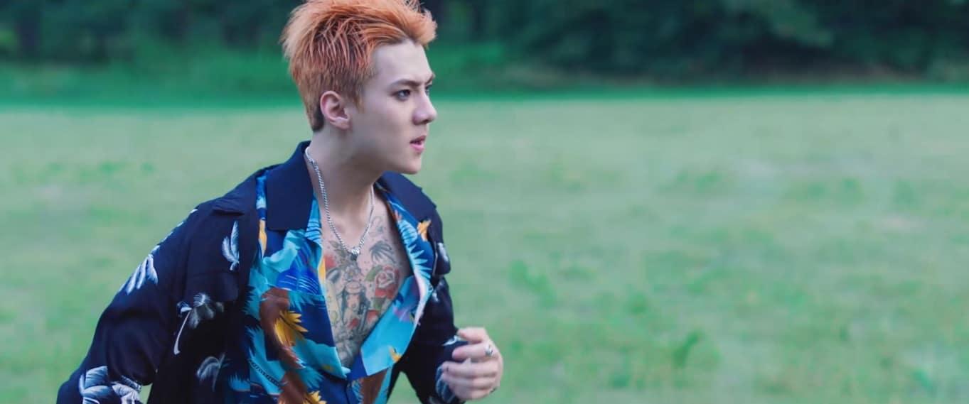 2017 EXO The War Comeback Sehun Teaser