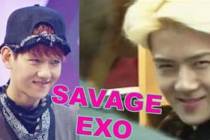 EXO Variety Show Savage Moments