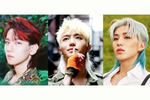 Kpop Idol Mullets