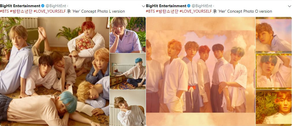 BTS Comeback 2017 Love Yourself Concept Photos