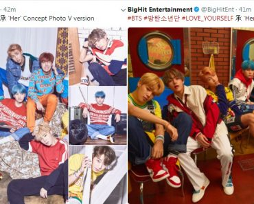 BTS Comeback Love Yourself Concept Photos