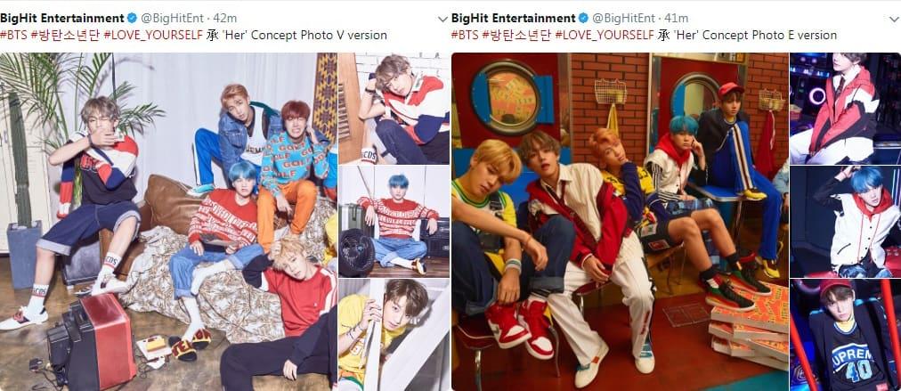 BTS Comeback Love Yourself Concept Photos