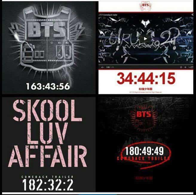 BTS Starts A Countdown On Big Hit Website