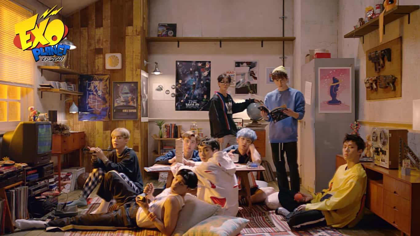 EXO GIF Teasers For THE WAR THE POWER OF MUSIC