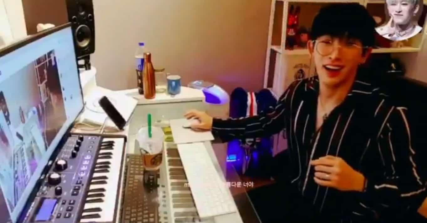 Monsta X Wonho Spoiled An Upcoming Comeback Song