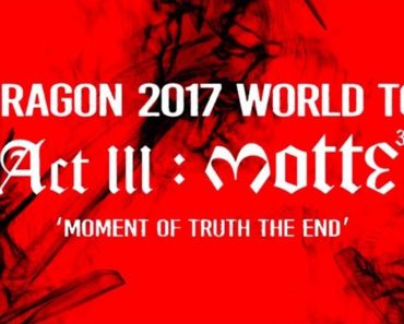 G-DRAGON Europe Tour Act III M.O.T.T.E
