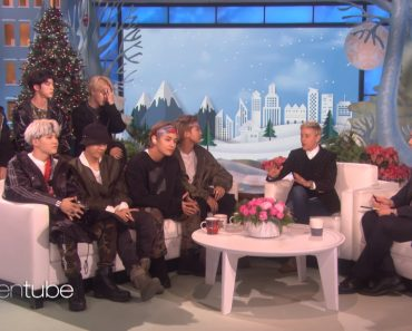 BTS on The Ellen DeGeneres Show