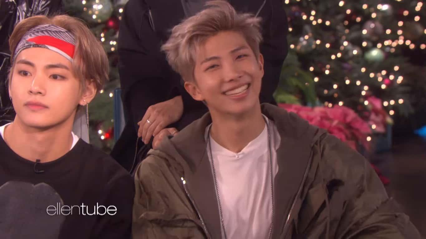 BTS on The Ellen DeGeneres Show