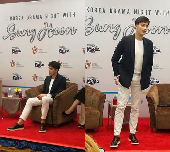 KOREA DRAMA NIGHT WITH SUNG HOON