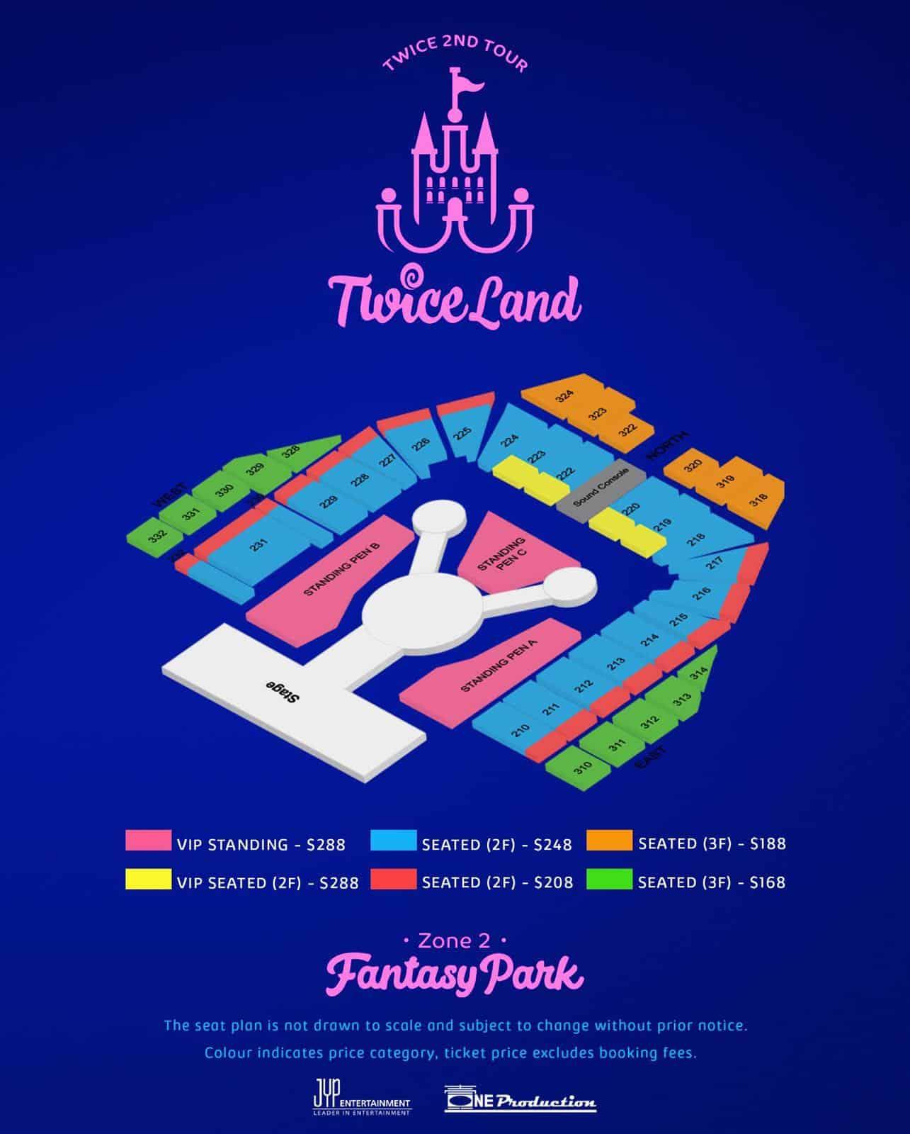 TWICELAND Zone 2 Fantasy Park in Singapore