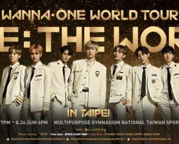 WANNA ONE World Tour in Taipei