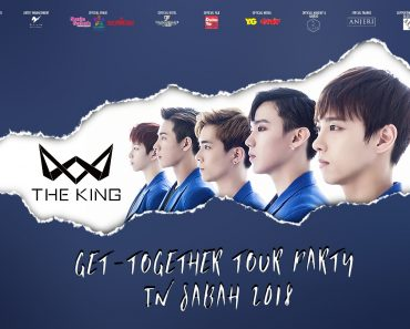 The King Get Together Tour Party in Sabah 2018