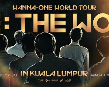 WANNA ONE WORLD TOUR LIVE IN KUALA LUMPUR