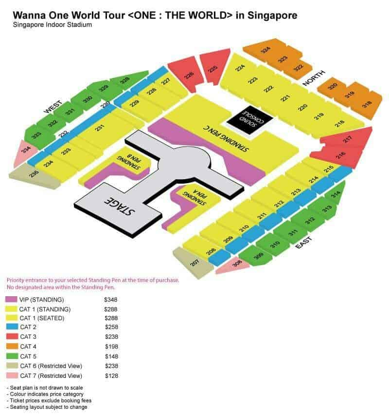 WANNA ONE WORLD TOUR <ONE: THE WORLD> IN SINGAPORE