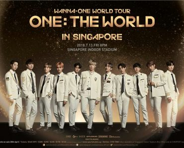 WANNA ONE WORLD TOUR IN SINGAPORE